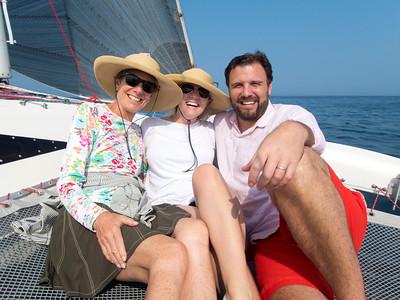 Dana Claire Fred sailing 21475