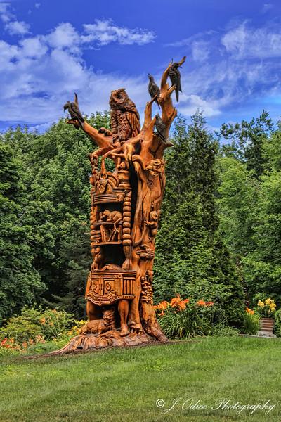 Josh Landry's sculpture
