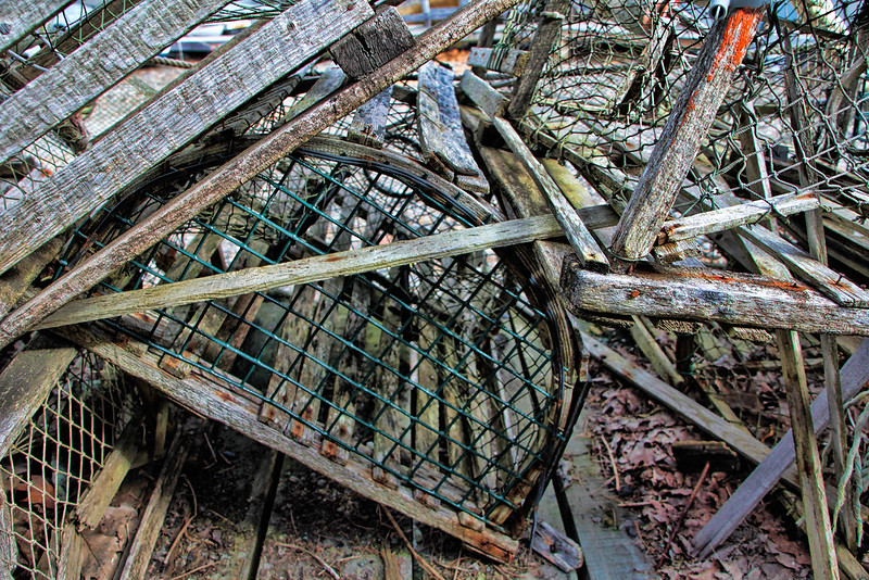The Old Way, Wooden Lobster Traps