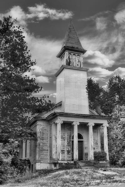 Abandoned Church b/w
