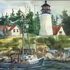 Burnt Island Light, Boothbay Harbor, ME