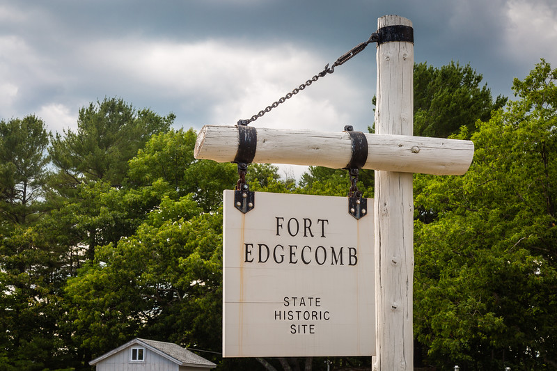 Fort Edgecomb Blockhouse View