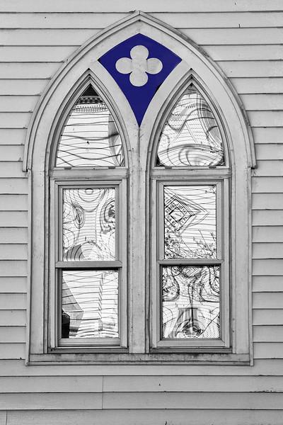 Harpswell Window Reflections