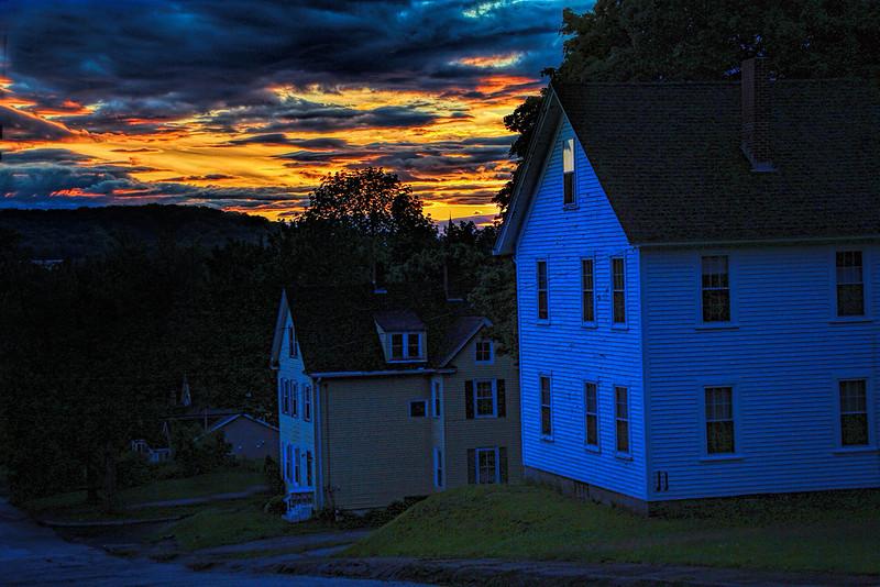 Twilight on Murray Street