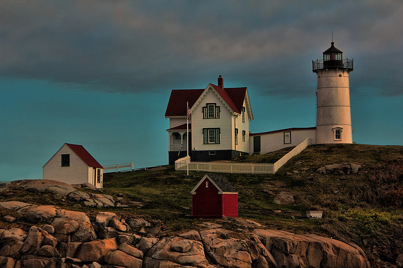 Twilight at Nubble Lighthouse