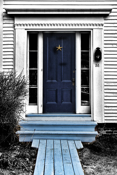 The Blue Doorway