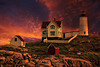 Nubble Lighthouse Sunset