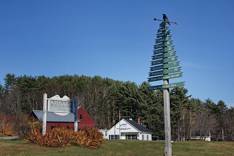 Vienna Village, Maine