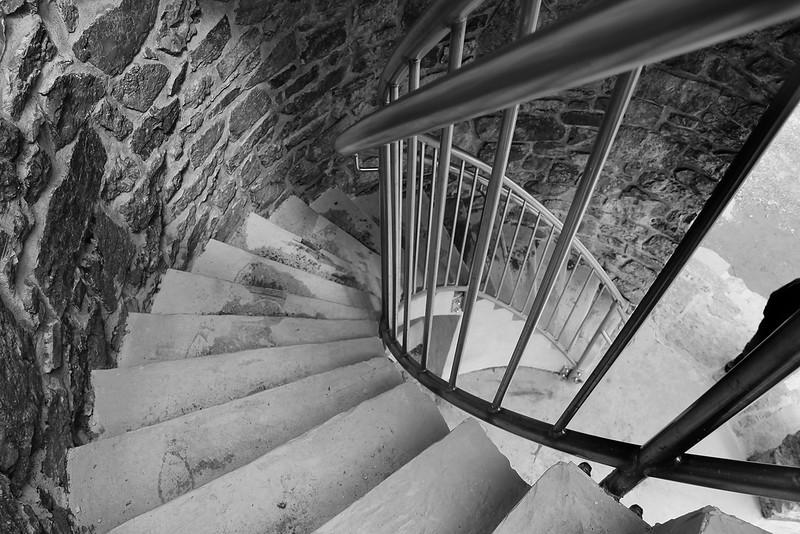 Mount Battie Stairway