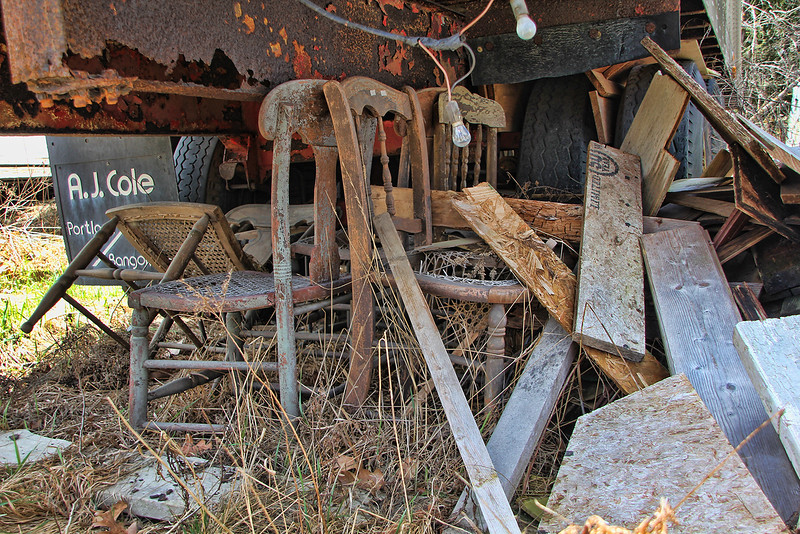 Trashed Chairs
