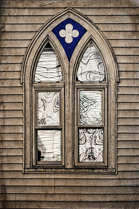 Harpswell Window Reflections ( Textured)
