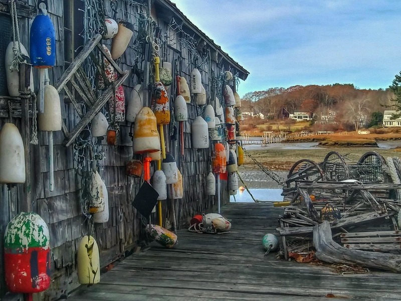 Cape Neddick Lobster Pots