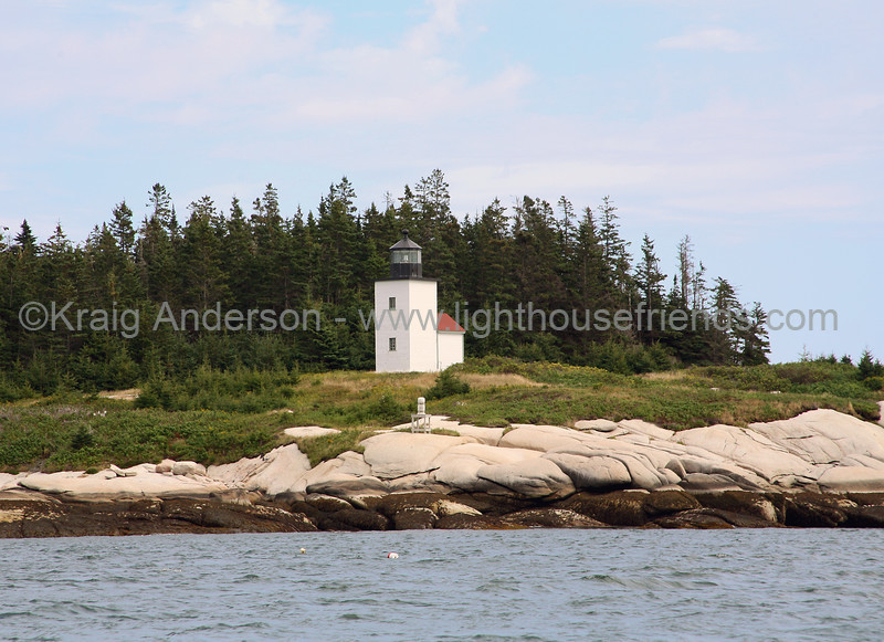 Mark Island (Deer Island Thorofare) Lighthouse