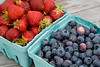 Fresh Picked Maine Strawberries & Blueberries