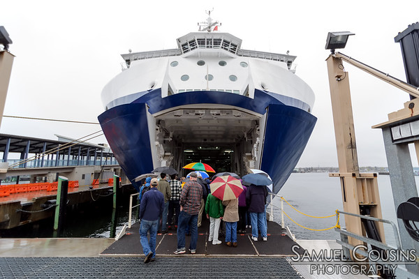 Getting in line for tours of the Nova Star