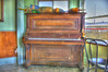 I took this HDR image of an old piano while Martha and I were eating breakfast at the Port Hole restaurant on Custom House wharf in Portland Maine.