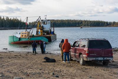 Refloating of the Matilda Bay