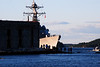 Aegis destroyer leaving the BIW and the Kennebec - 16