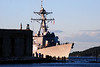 Aegis destroyer leaving the BIW and the Kennebec - 17