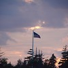 Allen Island, July 22 2016, Dark days for the flag