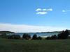 View from Cox's Head across Atkin Bay towards Popham