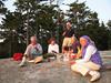 Robinson Rock for sunset, 8 September 2007
