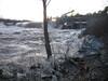Dam at Topsham, December 2010
