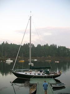 Spindrift Departure for Nova Scotia