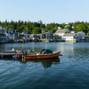 Stonington waterfront from the town wharf.