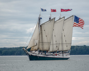 Windjammer Sail-In at Wooden Boat School, Sept. 2018