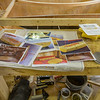 The boat builders get CAD information from the design/styling team as files and as photos of small models or 3D drawings.