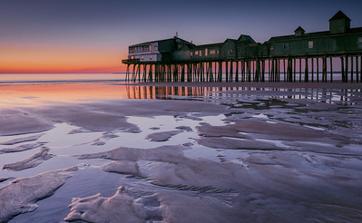 Old Orchard Beach Pier sunrise