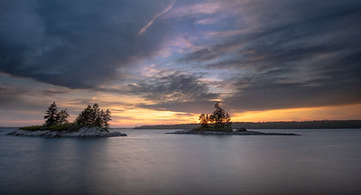 Harpswell, Maine sunset