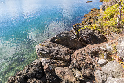 Rocks on Beauchamp Point Road - Rockport Harbor