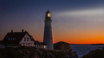 Portland Head Lighthouse Sunrise - Portland, Maine
