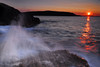 Acadia Sunrise near Otter Cliffs - Acadia National Park - Maine - Doug Beezley - August 2010