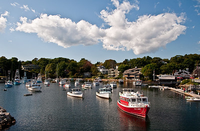 Ogunquit harbor, Ogunquit, Maine