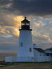 Evening Light - Point Pemaquid Lighthouse - Maine Coast - Doug Beezley - August 2010