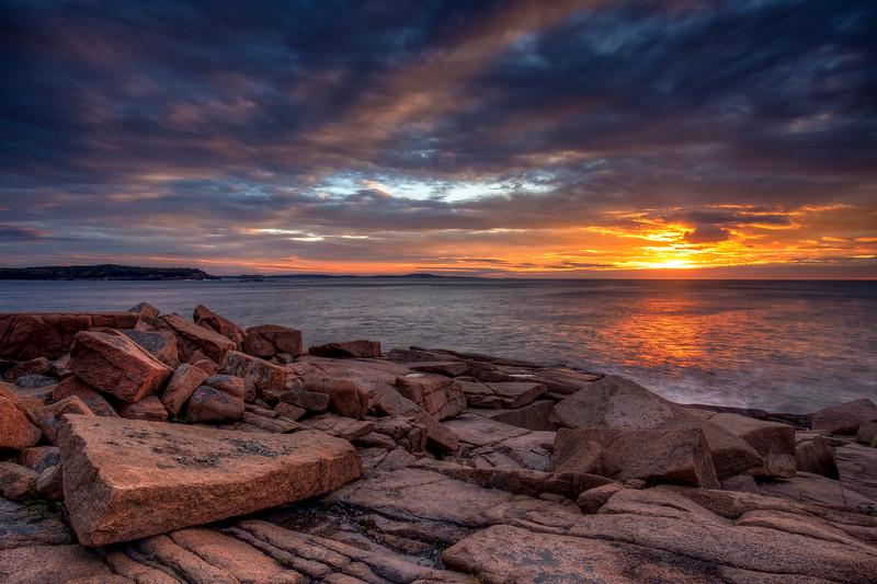 Dawn, Monument Cove, Acadia National Park