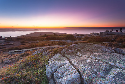 Cadillac Mountain Sunrise - Acadia National Park, Maine