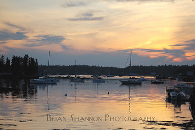 Boothbay sunset