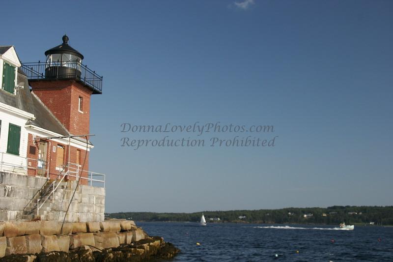 Rockland Breakwater Lighthouse, Maine