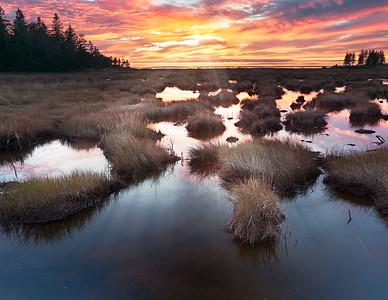 Southwest Harbor Sunset - Acadia National Park, Maine