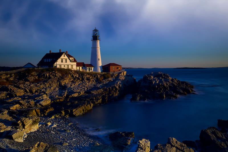Portland Head Lighthouse,  Cape Elizabeth