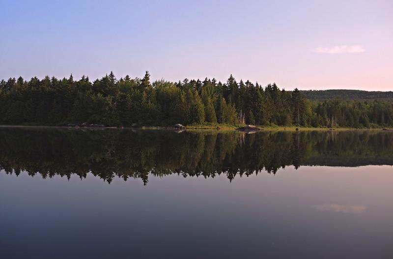 Quiet Morning in Maine
