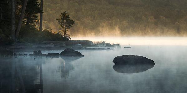 Eagle Lake Sunrise - Acadia National Park, Maine
