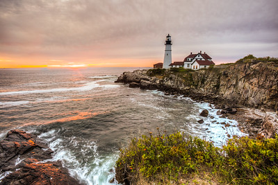 Portland Head Light, Cape Elizabeth, Maine, USA