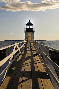 Marshall Point Lighthouse walkway