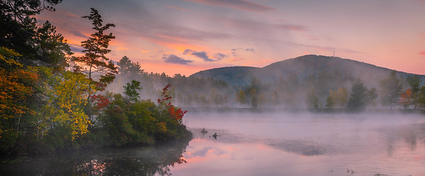 North Pond Foggy Sunrise