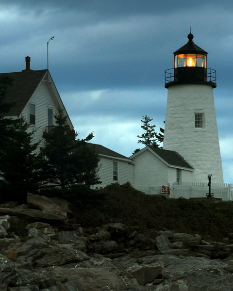 Point Pemaquid Lighthouse - Acadia National Park, Maine  - John Remy - August 2010
